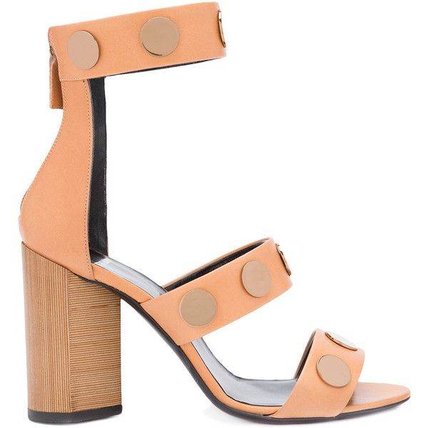 Pierre Hardy Penny Sandals (3.110 BRL) ❤ liked on Polyvore featuring shoes, sandals, calfskin shoes, pierre hardy sandals, camel sandals, pierre hardy shoes and pierre hardy