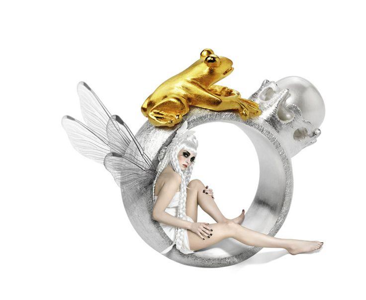 Kollektion FROSCHKÖNIG weitere Stücke dieser Kollektion findet ihr unter www.drachenfels-design.de king frog by Drachenfels