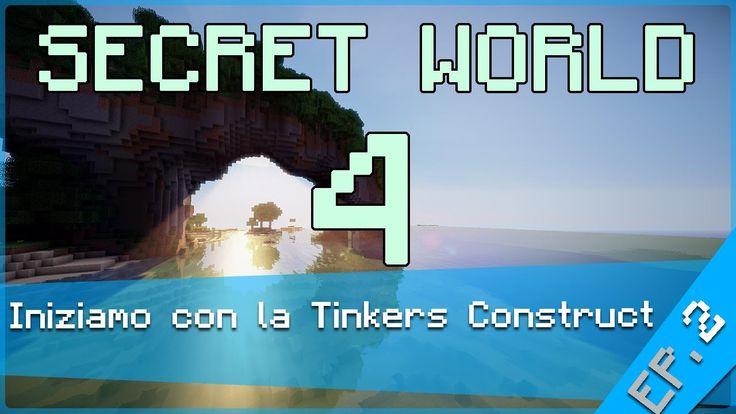 SecretWorld 4: -Iniziamo con la Tinkers Construct- Episodio #2 (+playlist)