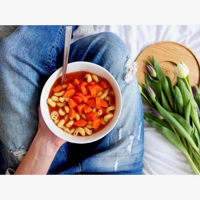 Dziś zupa pomidorowa 🍅🙂 --> Zapraszam moją stronę na fb https://m.facebook.com/eatdrinklooklove/ ❤ . . Today tomato soup 🍅🙂 --> I invite my page on fb https://m.facebook.com/eatdrinklooklove/ ❤