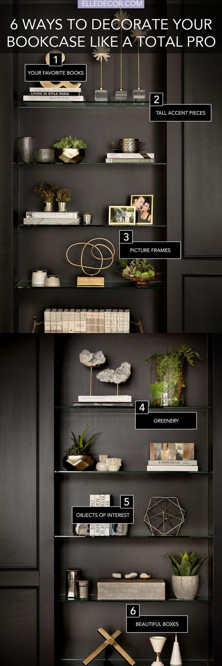 6 secrets to a perfectly styled bookcase bookshelf a shelf decorating ideasmodern