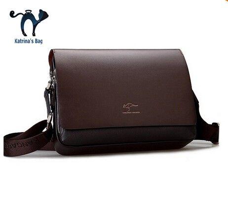 2015 Nieuwe Interieur Slot Rits Messenger Bags gratis Verzending Grote Promotie Mannen Messenger Tassen, Lederen Schoudertas