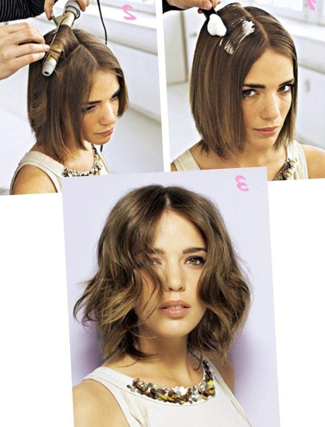 Как делать прически на короткие волосы