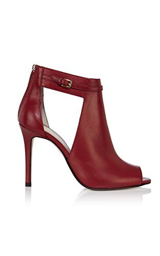 Leather Open shoe boot