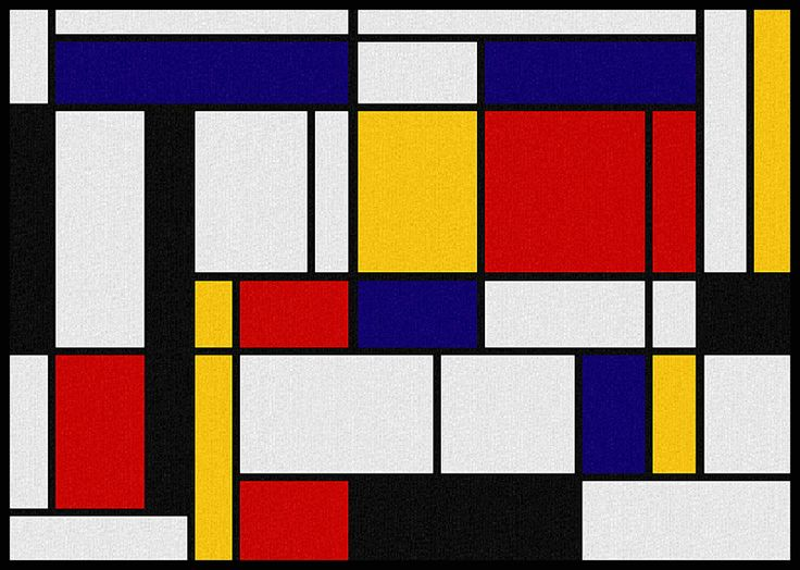 68 best Piet Mondrian images on Pinterest | Architecture, Painting .