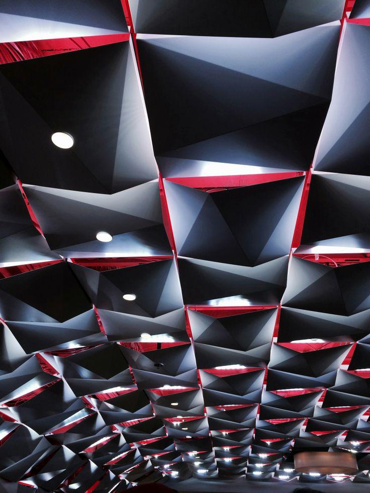 Ceiling detail - Salon Urbain de la Place des Arts, Montréal, QC