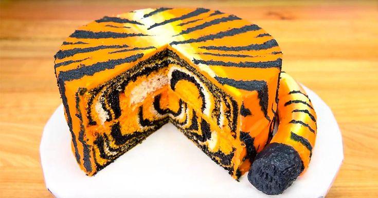 Best 20 Tiger Cake Ideas On Pinterest Cake Decorating