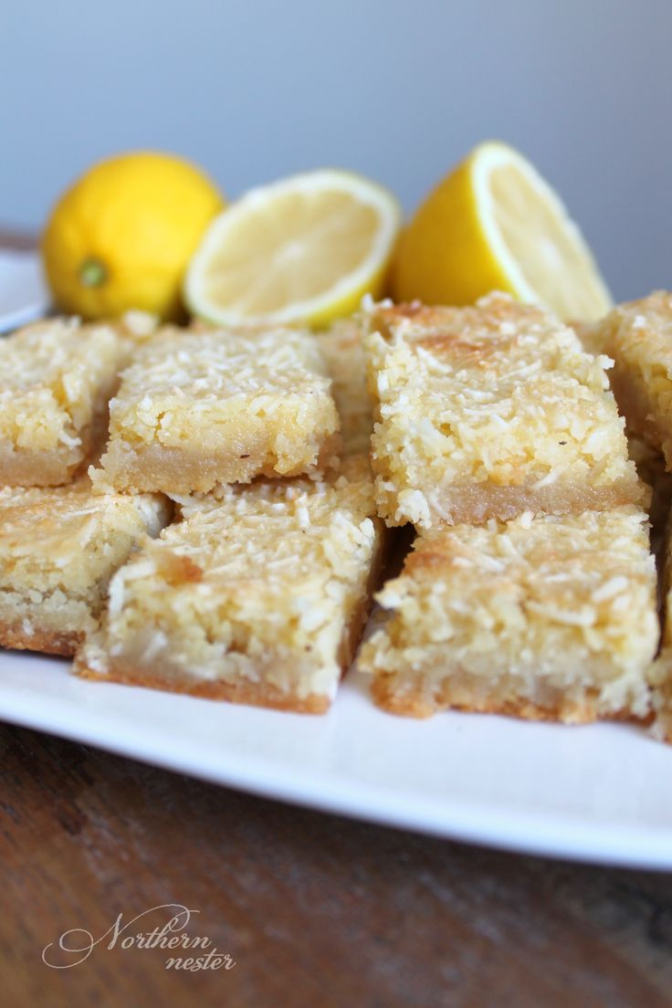 These Lemon Coconut Bars are an easy and delicious low-carb baked good that only takes a few minutes to prepare. Keto and THM S friendly. No special ingredients.