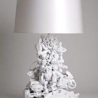 leuke doe het zelf lamp.