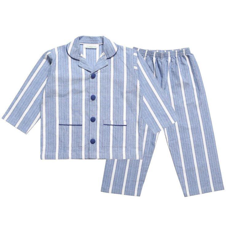 Turquaz Boys Blue Cotton 'Parry' Pyjamas at Childrensalon.com