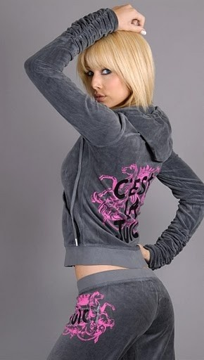 I want a juicy sweat suit too gahhh
