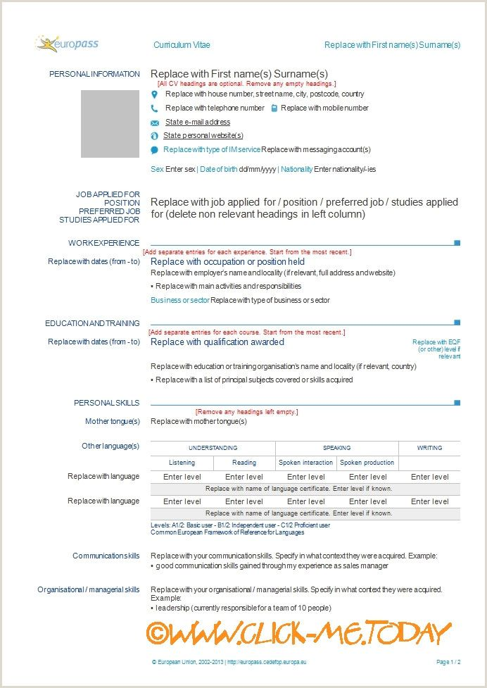 Curriculum Vitae Template Psd Download Word Formation