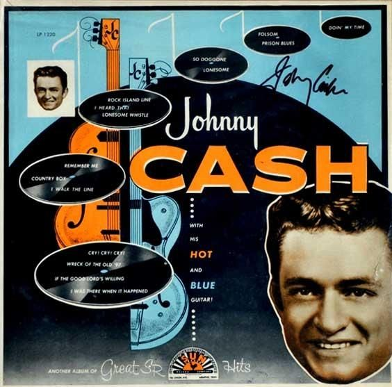 Johnny Cash – With His Hot And Blue Guitar 1957