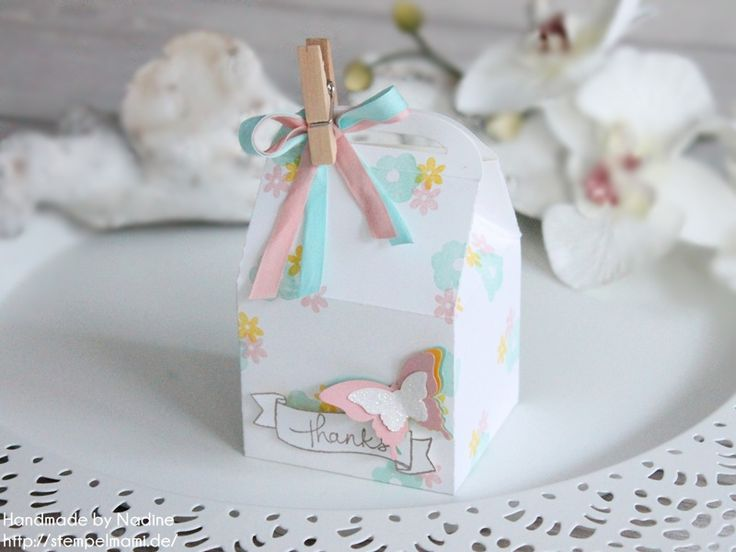 Stampin Up! Thinlits Leckereien Box oder Bakers Box