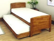 Relyon Storeabed De Luxe 3ft 2007 Oak With Mattresses