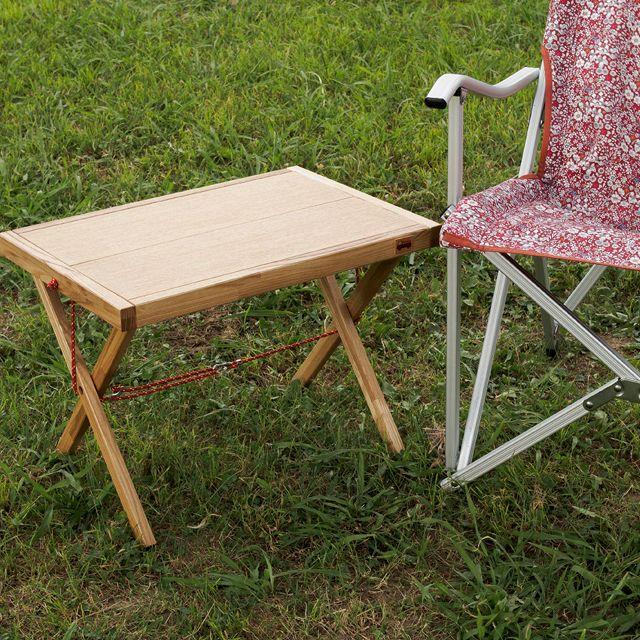 【組み立て式・木製アウトドアテーブル】チェアサイドテーブル | Pickup Factory&Store