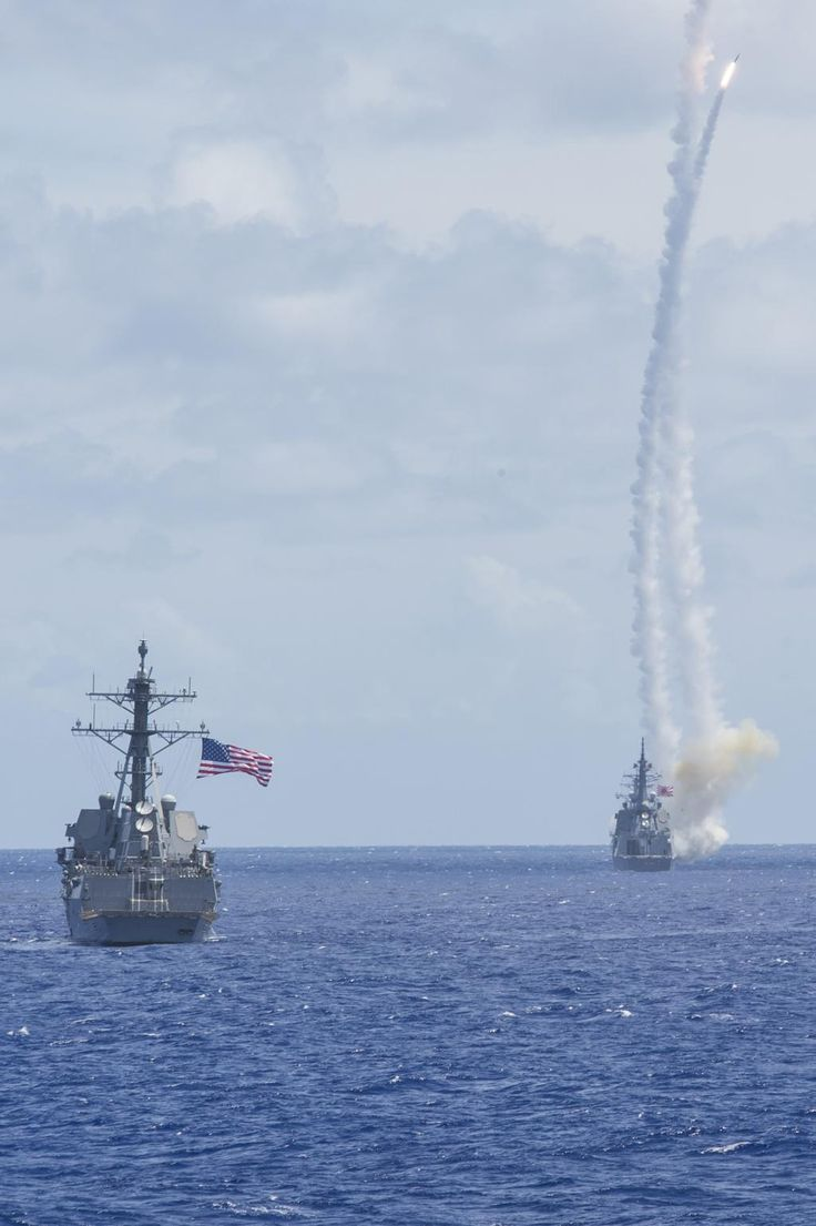 Missiles away w/ #JMSDF @US7thFleet Multi-Sail '15. Strengthening alliances b/c #PartnershipsMatter.