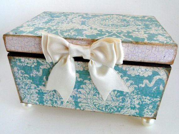 Probably the cutest keep sake box I have ever seen. Iam 100% in love. I think I might purchase some day soon! perfect colors as I am in T