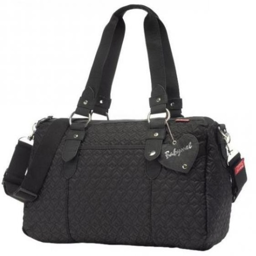 Babymel Ella in Quilted Black. The perfect size for storing all your essentials! $149 and available at www.dollface.com.au