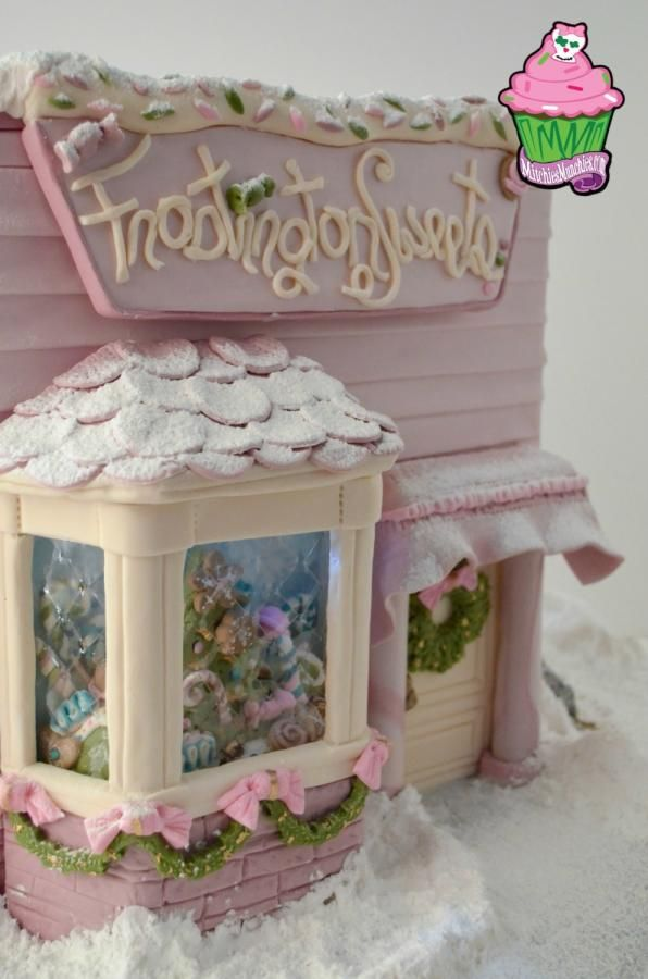 Frostington Sweets by Chef Mitchie - Cake by Chef Mitchie - CakesDecor gingerbread house cookie house