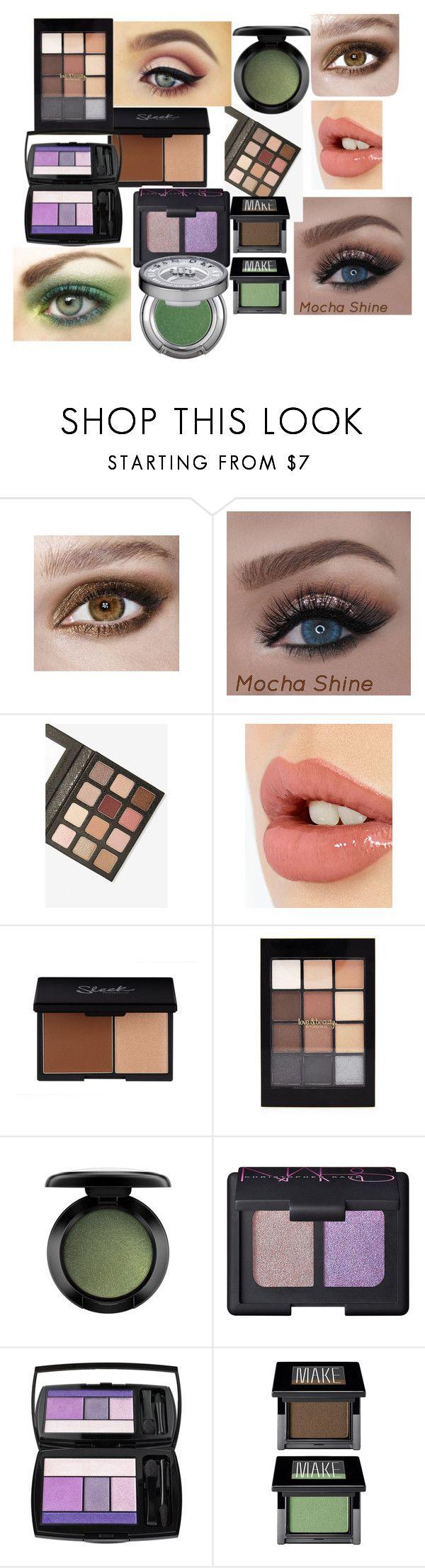 """макияж"" by artemia-13 on Polyvore featuring мода, Charlotte Tilbury, Forever 21, MAC Cosmetics, Lancôme, Make и Urban Decay"