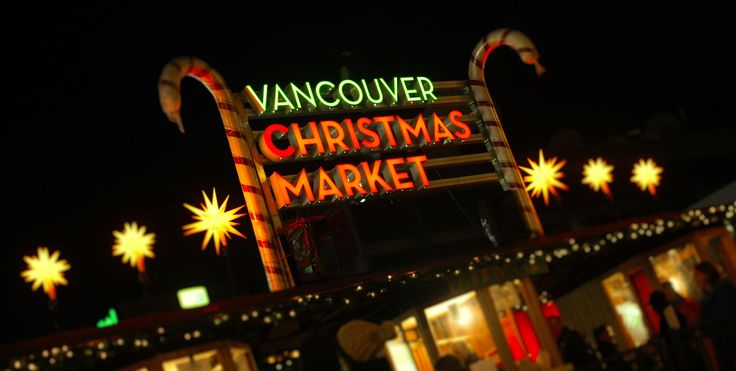 The lovely yellow Herrnhut Stars at the entrance to the Vancouver Christmas Market. #mybrilliantstar #herrnhutstar #moravianstar #christmas #decoration #vancouverchristmasmarket