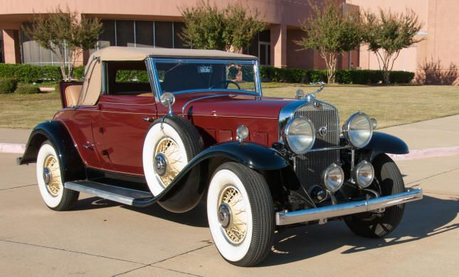 1931 Cadillac Convertible Coupe - (Cadillac Motors, Detroit, Michigan 1902- present)
