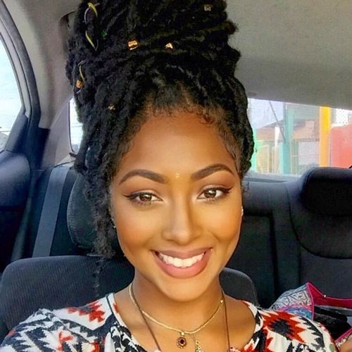 24 best african american braided updo hairstyles images on these african american braided updo hairstyles styles are vastly popular and are suitable for a wide range of occasions pmusecretfo Choice Image