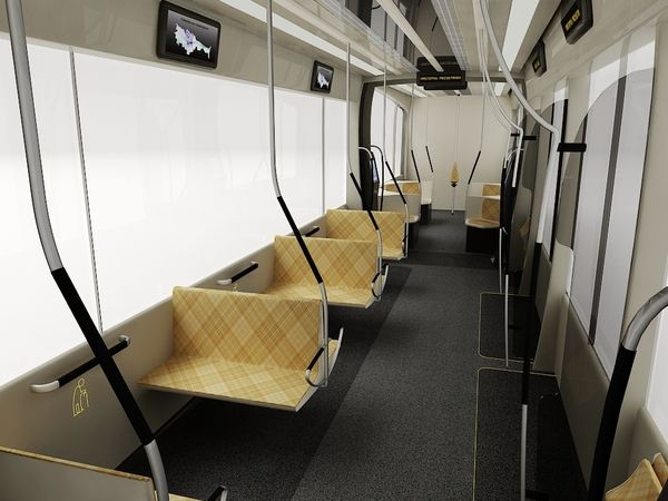 Best 68 Train Interior Concepts Images On Pinterest Design Behance Buses And Commuter Train