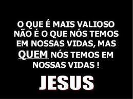 JESUS é tudo eu quero