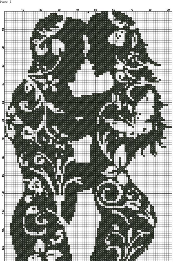 Man and Woman Filet Crochet