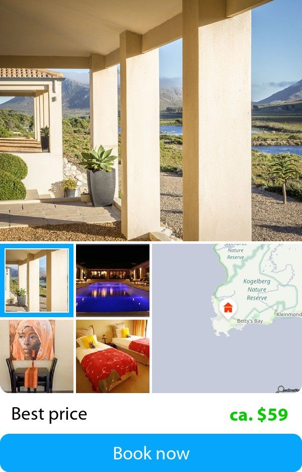 3Flavours Guest House (Pringle Bay, South Africa) – Book this hotel at the cheapest price on sefibo.