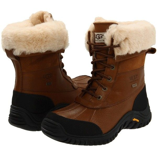 UGG Adirondack Boot II Women's Cold Weather Boots ($225) ❤ liked on Polyvore