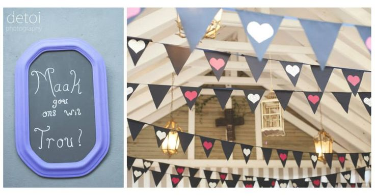 Sean & Petro Wedding Bunting