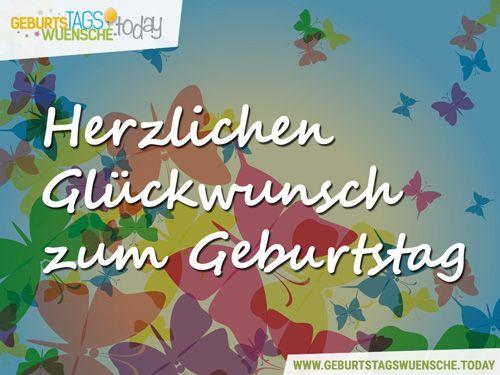 138 best Geburtstagsgrüße - Glückwünsche zum Geburtstag! images on