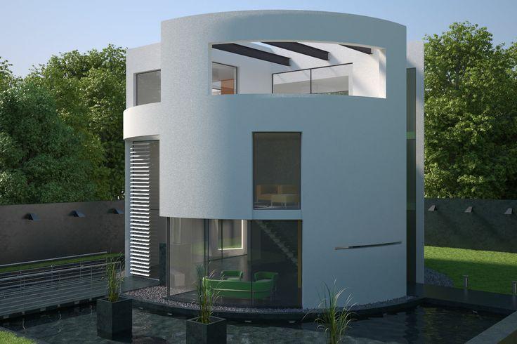 Visualisation of round house