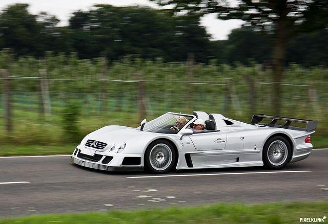 Mercedes CLK GTR AMG Roadster | Flickr: Intercambio de fotos #windscreen #winddeflector http://windblox.com
