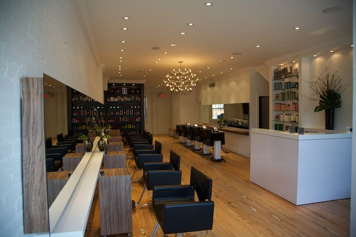 Our award winning Salon Design & Build for Bob and Paige Salon in Toronto.