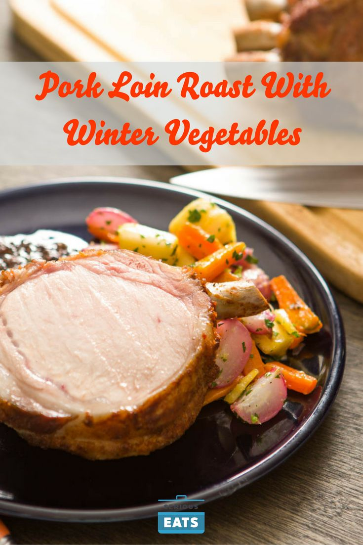 A pork loin roast is perfect for entertaining.