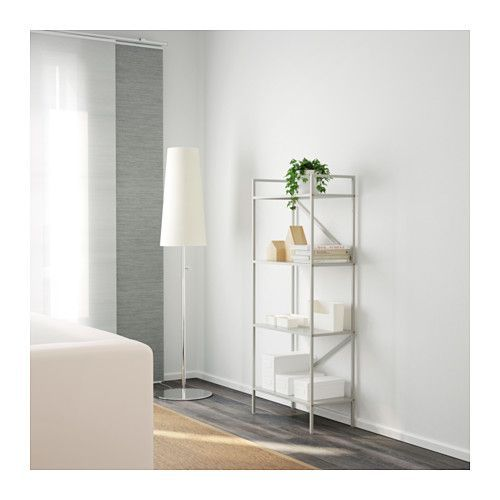 DRAGET Shelf unit IKEA The design makes the bookcase easy to place in different spaces and match with other furniture.