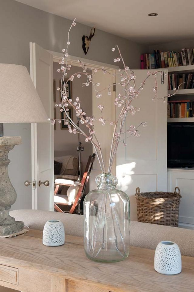 perfect jug for branches- a perfectly simple addition to any decor