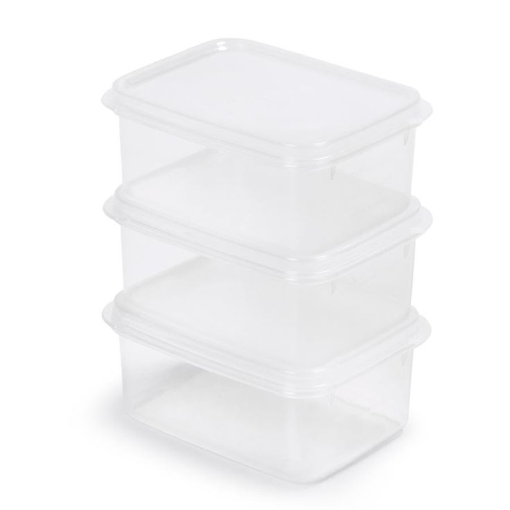 3 Pack 500ml Containers | Kmart