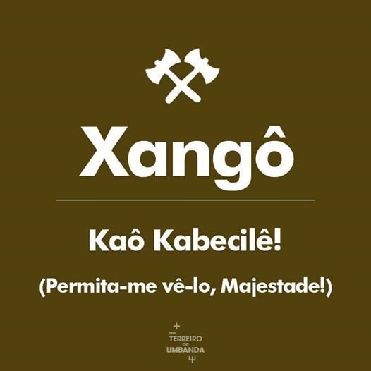 Rola pedra da pedreira na cabeça dos meus inimigos  Kabecilê Xangô!!!