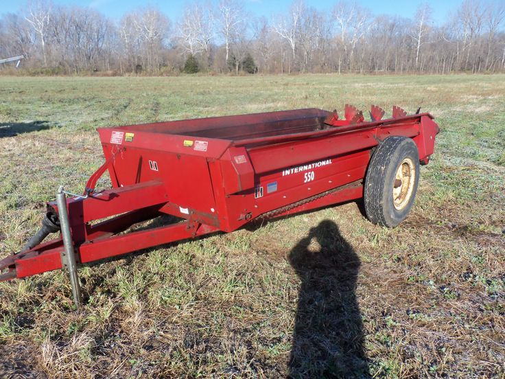 Farmall Manure Spreader : Bushel international manure spreader ih farmall