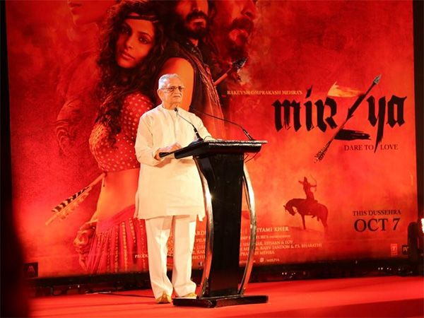 Rakeysh Omprakash Mehra's #Mirzya   will see #Gulzar   sahab scripting the screenplay of a film after almost 17 years. he talks about the upcoming movie and much more. Excerpts… Read on...  #ComingTrailer