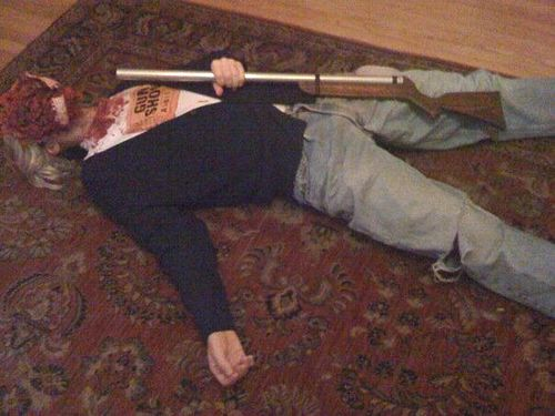 Kurt Cobain Death Photos Graphic   photo