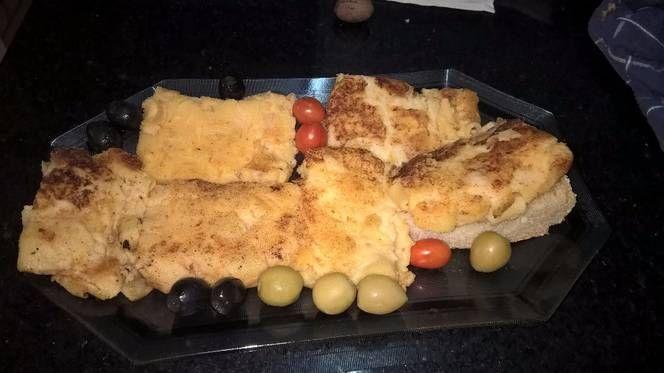 """""""Macarrones con queso asados en plancha o parillla"""""""