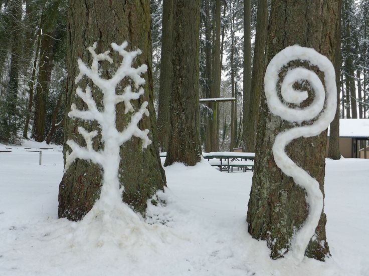 Tidal Art: Snow Day