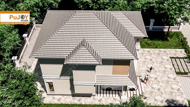 Modern Villa Plan 7.5x11m Villa plan, Home design plans