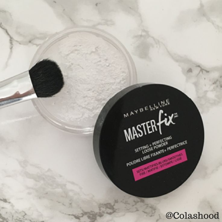 poudre masterfix maybelline